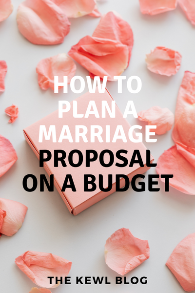 Pinterest Banners - How To Plan A Marriage Proposal On A Budget