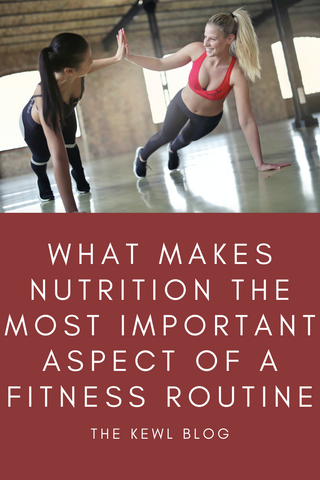 Pinterest Banner - Fitness and nutrition