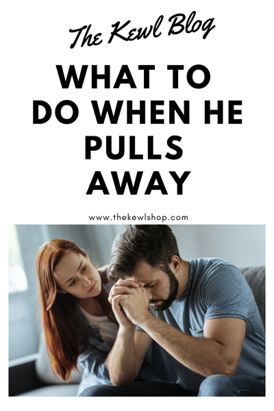 what to do when he pulls away infographic