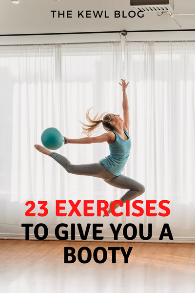 Pinterest Banners - 23 Exercises to Give You a Booty