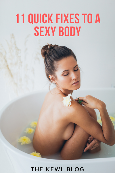 Pinterest Banners - 11 Quick Fixes to a Sexy Body
