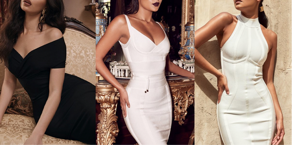 Baandage and bodycon dresses