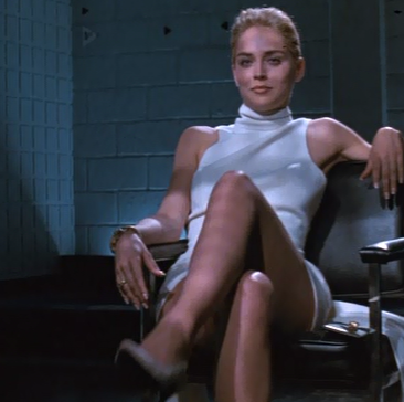 Sharon Stone Dress in Basic Instinct