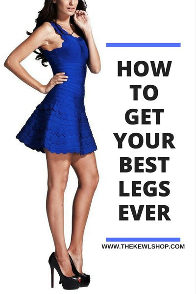 Pinterest Infographic - how to get the best legs