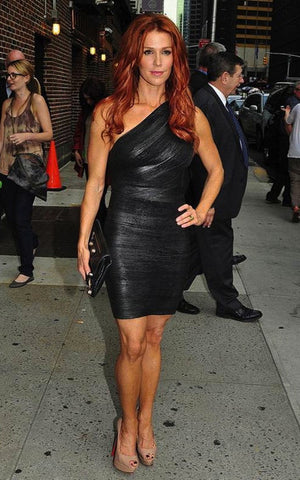 poppy montgomery bandage dress