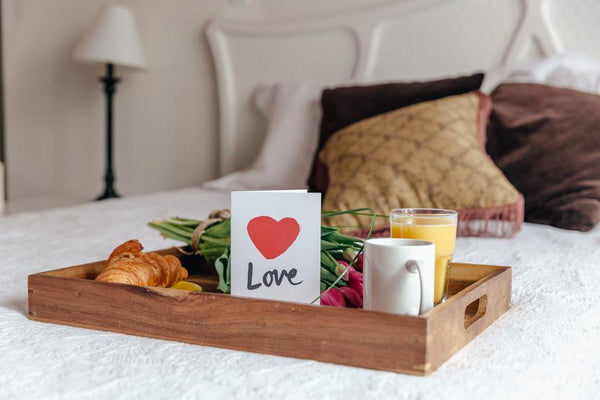 Love Yourself With Breakfast In Bed