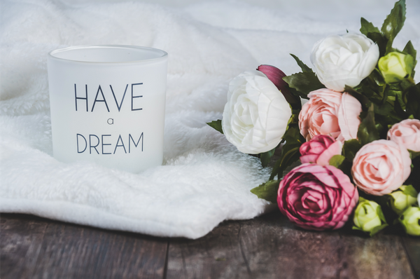 Have a dream on coffee cup