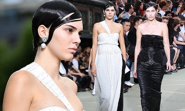 kendal jenner white gown