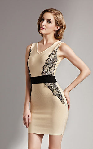 lace bandage dress