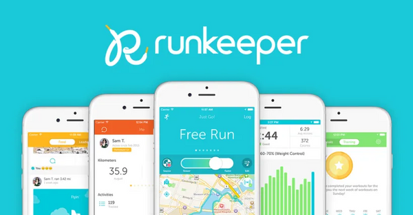 runkeeper app logo and screenshots