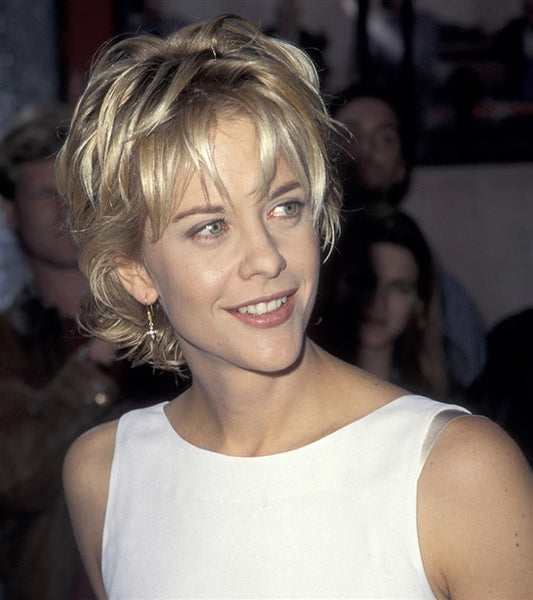 Meg Ryan in her shag hairstyle