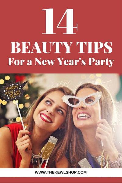New years eve party infographic and Pinterest banner