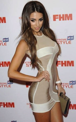 Georgia Salpa bandage dress