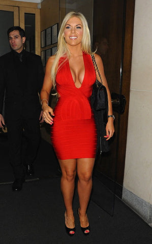 francesca essex bandage dress