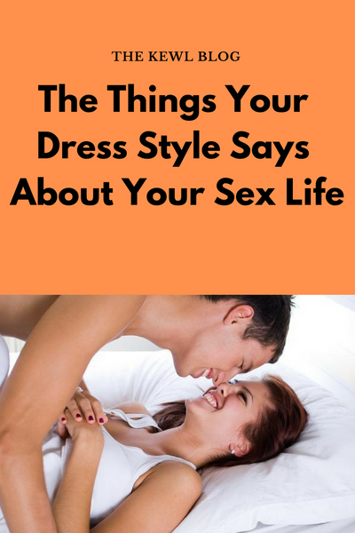 Pinterest infographic - dress styles and sex life