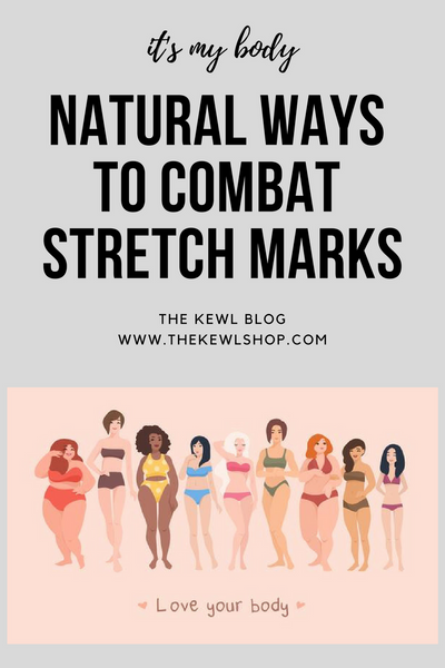 Pinterest infographic - combat stretch marks