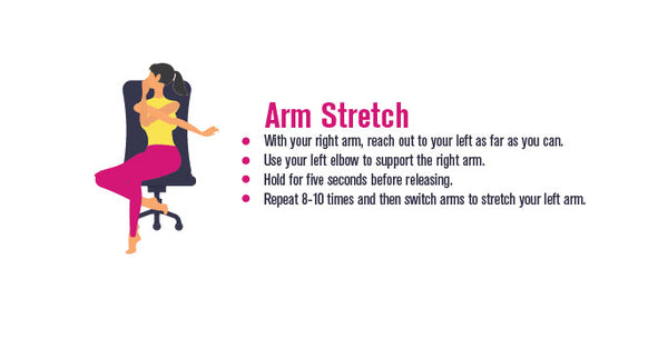 Pinterest, Infographic, Arm Stretch