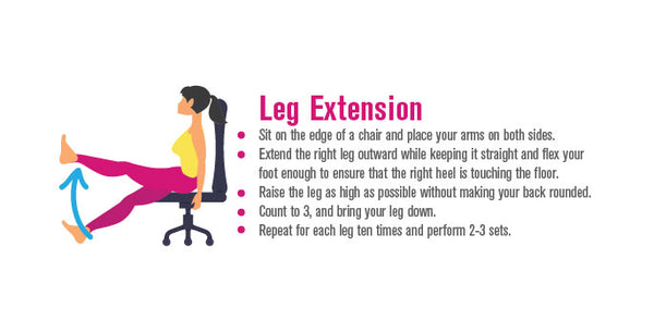 Pinterest, infographic, Leg extension