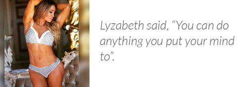 Lyzabeth is a certified holistic nutritionist as well as an award winning personal trainer