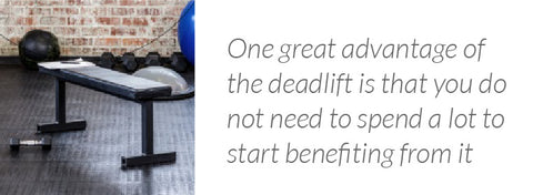 Deadlift is affordable