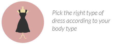 Pick the right type of dress according to your body type