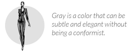 what wearing gray says about you