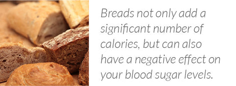 Thanksgiving bread have a negative effect on your blood sugar levels