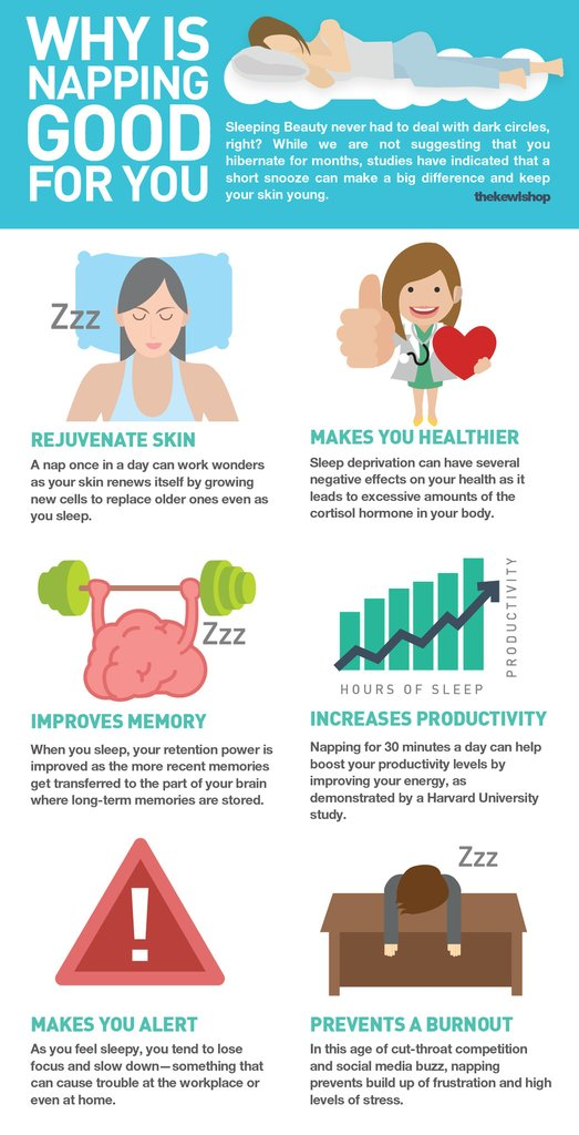 infographic - why napping is good for you