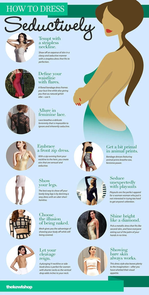 Infographic - How to dress seductively