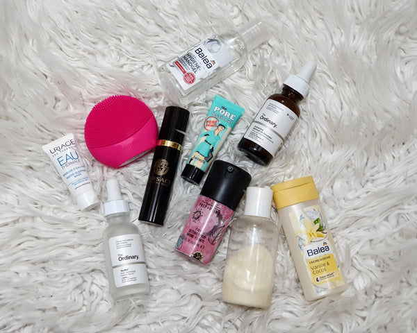 Travel minis for makeup