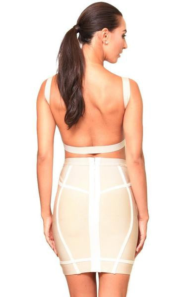 two piece bandage set back