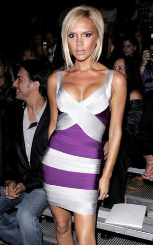 victoria beckham bandage dress
