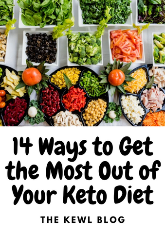 Pinterest Banner - Get Most Out Of Keto Diet