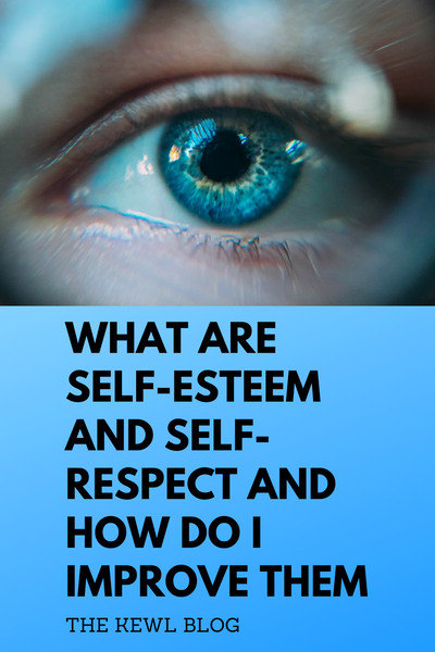 Pinterest banner - Self-esteem and self-respect
