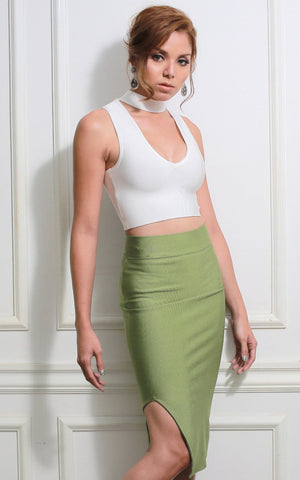 Bandage Pencil Skirt