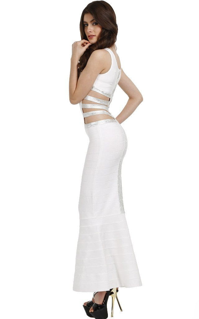 White Tight Long Prom Dresses – Dresses for Woman