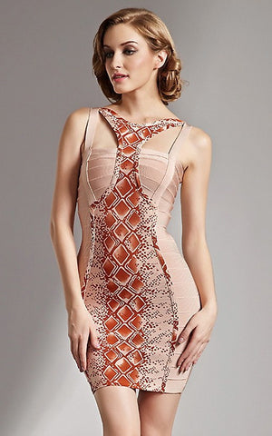 Sexy Hollow Out Bandage Dress