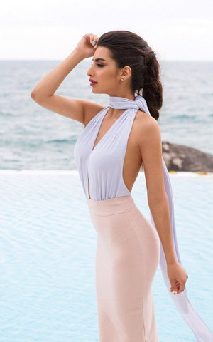Sweet Angel Bandage Dress Set