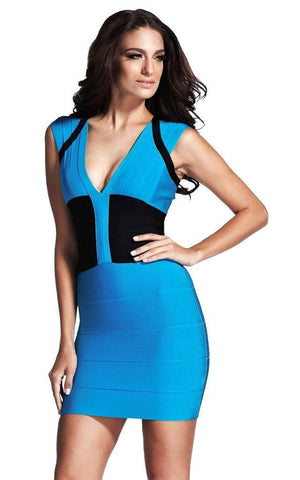 Ice Blue Cocktail Dress