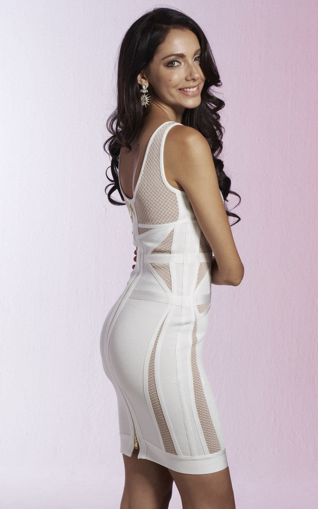 3a94642a38c White Bandage Dress – Fashion dresses