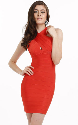 Beautiful Halter Bandage Dress - Clearance
