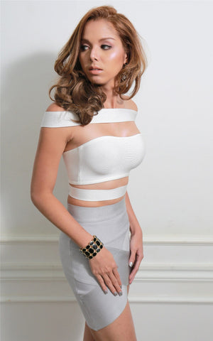 Strappy Bandage Crop Top