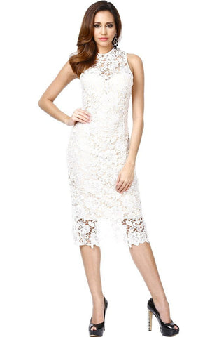 Serenity White Lace Dress