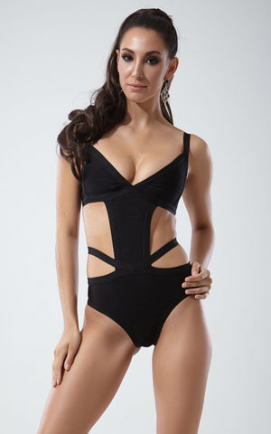 Black One Piece Bandage