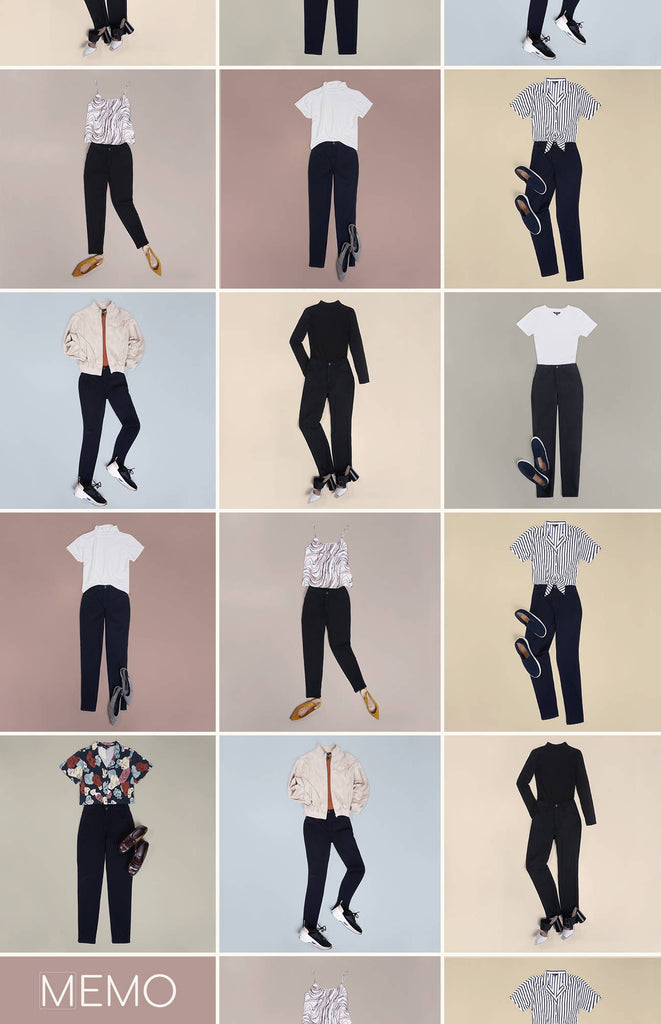 This Is How You Can Create 7 Looks with Only 1 Pair of Pants