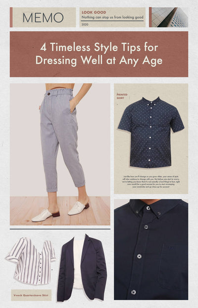 4 Timeless Style Tips for Dressing Well at Any Age