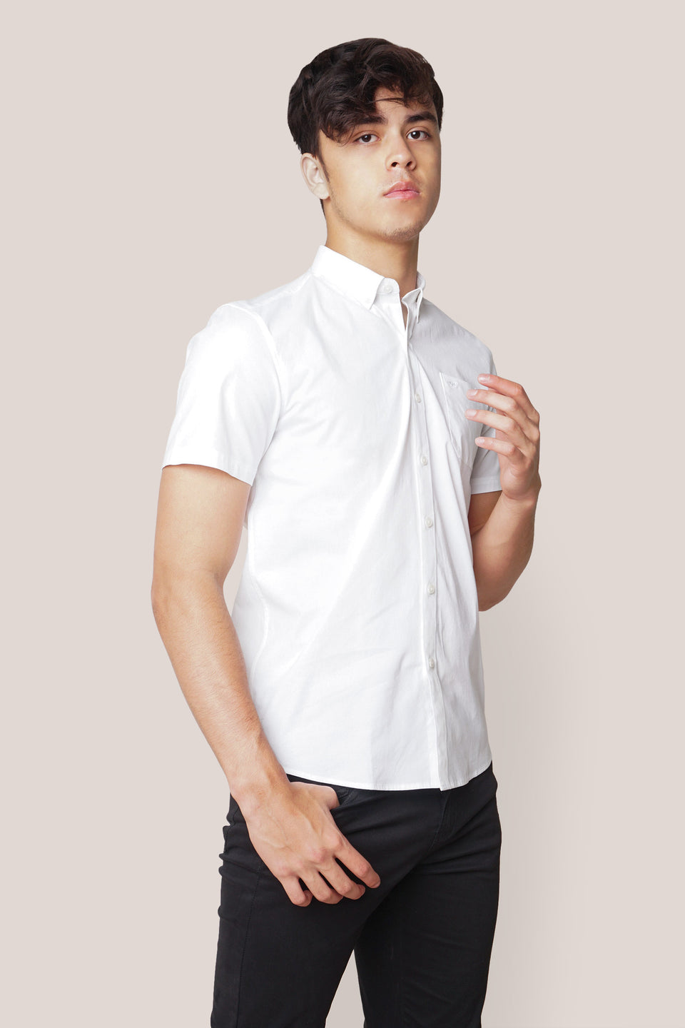 Basic Short Sleeves Shirt