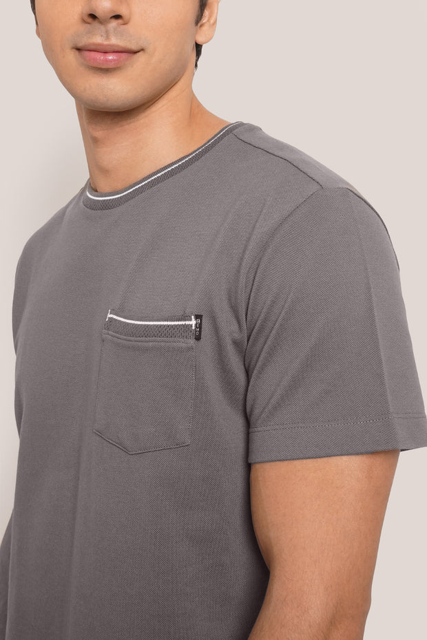 Ultimate Basics Pique Pocket Tee