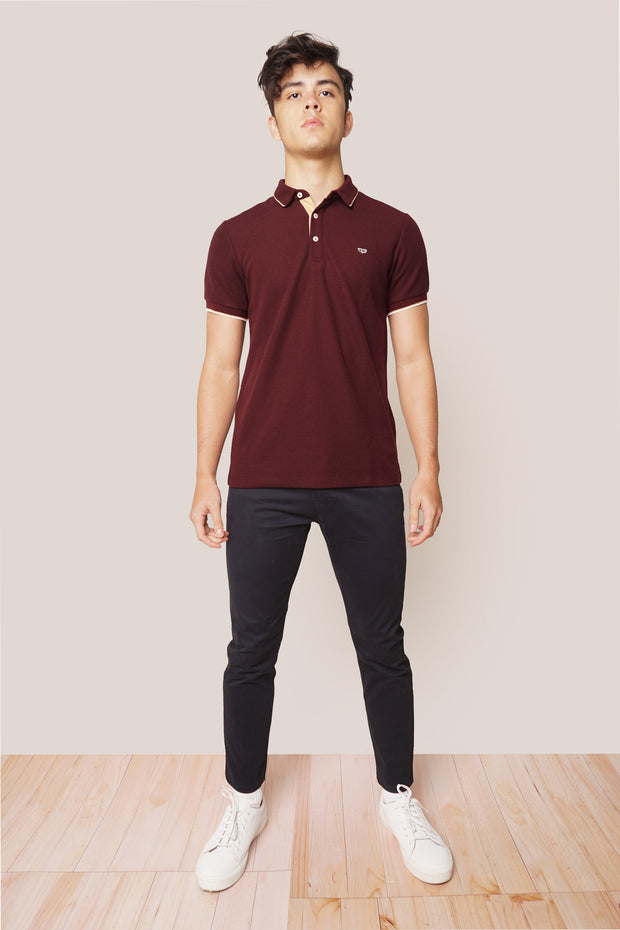 Ultimate Basics Premium Textured Owl Polo