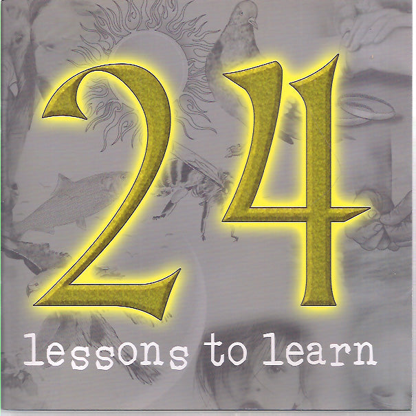 24 Lessons to learn